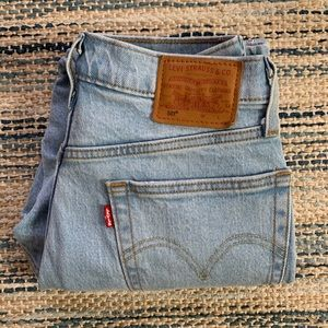 Levi's 501 jeans with tape